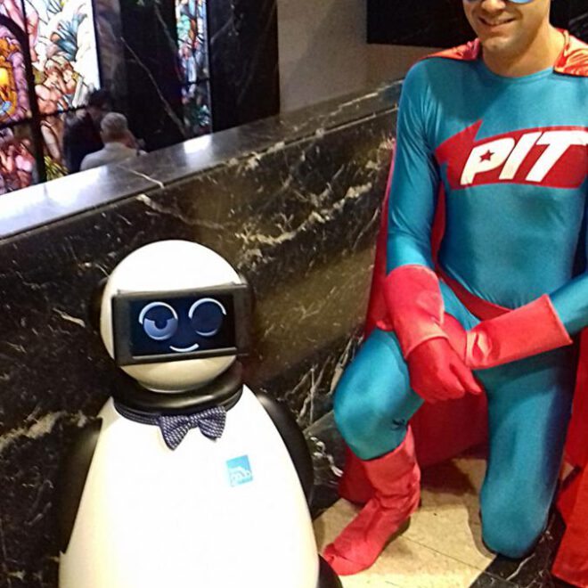 comics y dumy robot pit5
