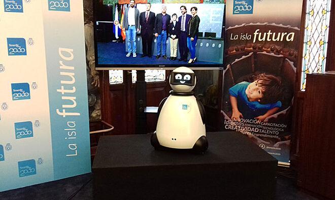 dumy robot presidente por un dia