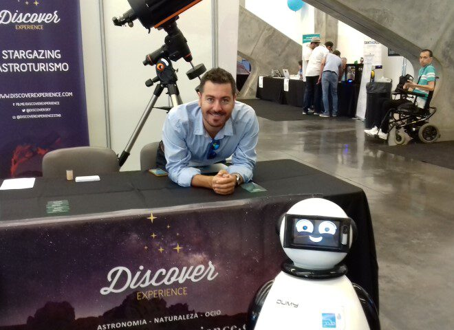 dumy robot y discovery experience