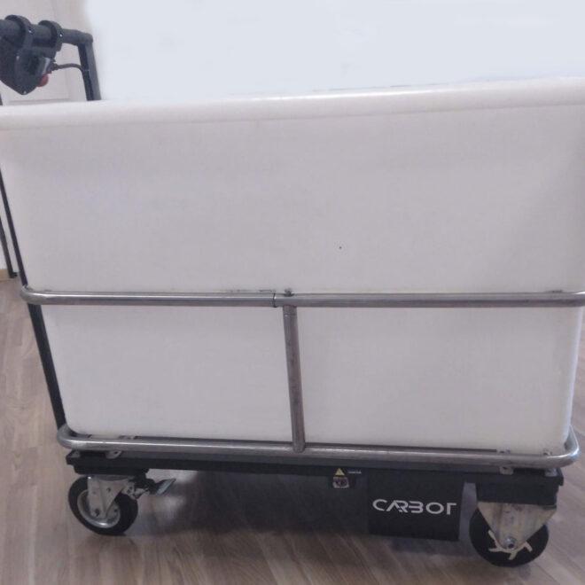 carro mecanizado para hoteles trend robotics carbot bucket