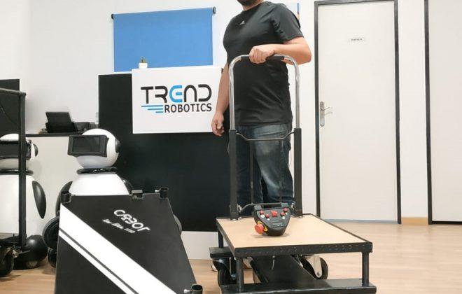 Ceo javier lamas trend robotics